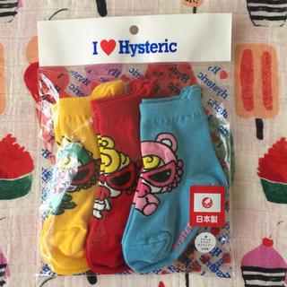 HYSTERIC MINI - リトル4靴下(*゚・゚)♡*゜