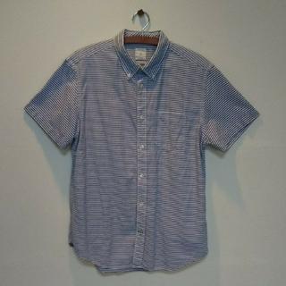 ギャップ(GAP)のギャップ  ストライプ柄 半袖 シャツ(シャツ)