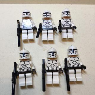 Lego - レゴ スターウォーズ クローントルーパー6体セット