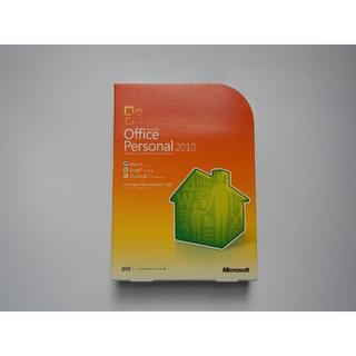 マイクロソフト(Microsoft)のOffice Personal 2010 パッケージ版(その他)