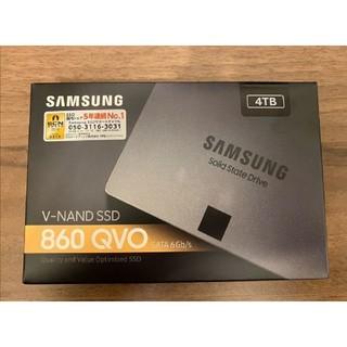 SAMSUNG - SAMSUNG 860 QVO SSD 4TB 美品