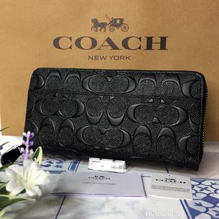 コーチ(COACH)のコーチ 長財布 エンボス 【新品】(長財布)