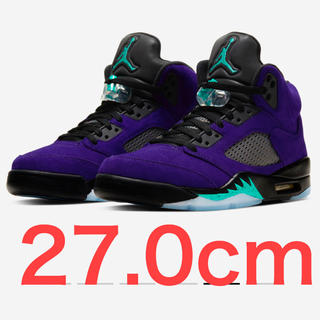 ナイキ(NIKE)のNIKE AIR JORDAN 5 PURPLE GRAPE(スニーカー)