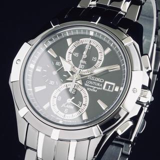 SEIKO - ◆定価52000円◆ セイコー 新品 メンズ 腕時計 クロノグラフ 100M防水