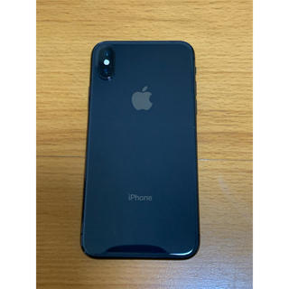 Apple - iPhoneX 64GB SIMフリー スペースグレー