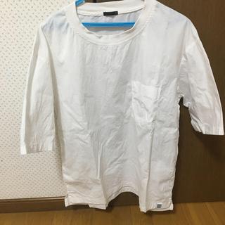 GU - 白シャツ 半袖 S メンズ