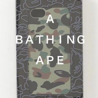 アベイシングエイプ(A BATHING APE)のエイプ A BATHING APE IPHONE 5 5s SE ケース(iPhoneケース)