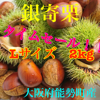 栗 銀寄栗 Lサイズ2Kg(野菜)