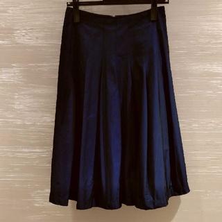 ジュンコシマダ(JUNKO SHIMADA)の49AVジュンコシマダタフタ素材スカート(ひざ丈スカート)