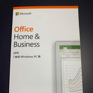 マイクロソフト(Microsoft)のOffice 2019 Home&Business (ノートPC)