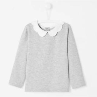 ジャカディ(Jacadi)の美品♡jacadi 長袖 カットソー 36M グレー (Tシャツ/カットソー)