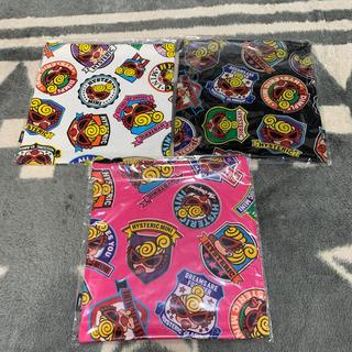 ヒステリックミニ(HYSTERIC MINI)のヒスミニ  ♡巾着袋3点セット(ランチボックス巾着)