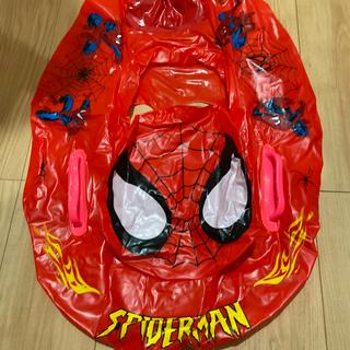 浮き輪 スパイダーマン 足入れ うきわ