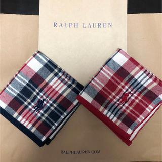 Ralph Lauren - ラルフローレン ハンカチ 2枚