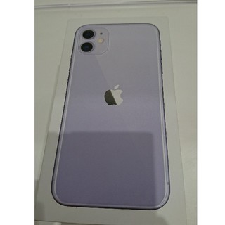 iPhone - iphone11 パープル 64gb docomo simロック解除済