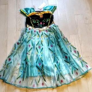 ディズニー(Disney)の【ハロウィン🎃数量限定SALE】👑アナと雪の女王/アナドレス/140/新品(ドレス/フォーマル)