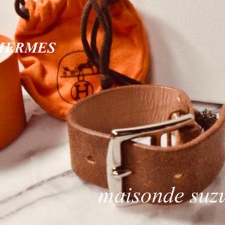 エルメス(Hermes)の美品 ※エルメス ※ 革ブレスレット 箱つき(ブレスレット/バングル)