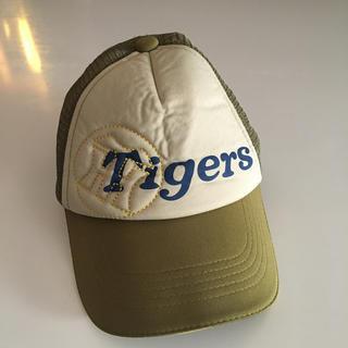 ハンシンタイガース(阪神タイガース)の阪神タイガースキャップ帽(応援グッズ)