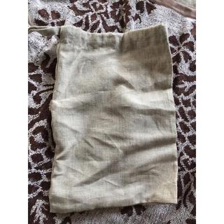 ムジルシリョウヒン(MUJI (無印良品))の無印良品  麻   袋  巾着(日用品/生活雑貨)