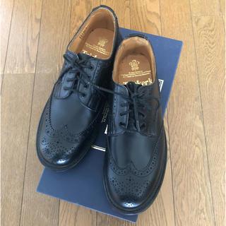 トリッカーズ(Trickers)の〈トリッカーズ〉レースアップシューズ ブラック 24.5cm ※新品(ローファー/革靴)