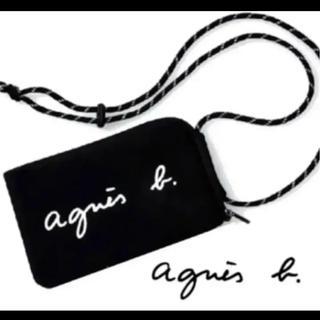 agnes b. - agnes b.マルチケース新品BLACKショルダーバッグ