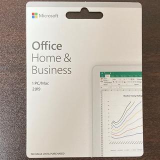 マイクロソフト(Microsoft)のOffice 2019 Home&Business for Mac(PCパーツ)