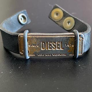 DIESEL - DIESEL レザー ブレスレット
