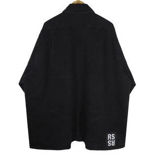 RAF SIMONS  ブラック  刺繍   ジャケット xs(Gジャン/デニムジャケット)