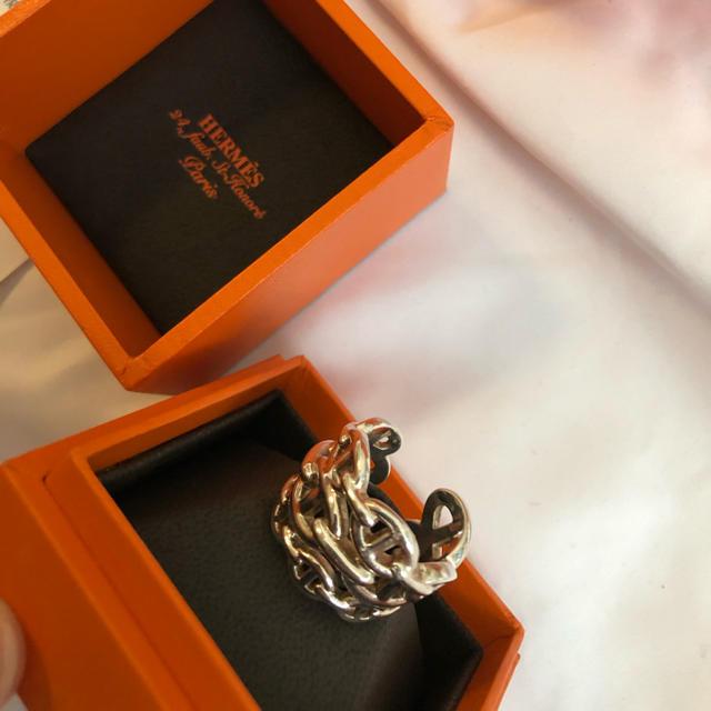 Hermes(エルメス)のシェーヌダンクル 三連リング メンズのアクセサリー(リング(指輪))の商品写真