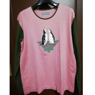 ピンクハウス(PINK HOUSE)のPOWDER ペンギンTシャツ長袖(Tシャツ(長袖/七分))