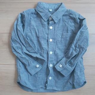 ムジルシリョウヒン(MUJI (無印良品))の無印良品 コーデュロイシャツ 100(ブラウス)