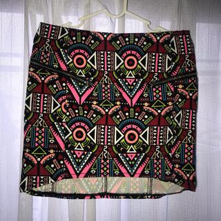 エイチアンドエム(H&M)のスカート38サイズ(ミニスカート)