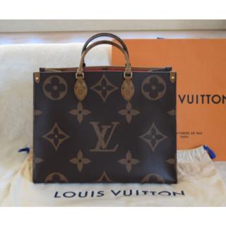 LOUIS VUITTON - Louis Vuitton  オンザゴー GM ジャイアントモノグラム トートバ