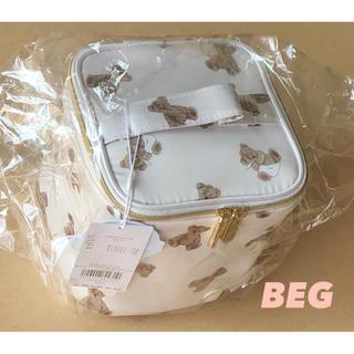 gelato pique - 【ベージュ】ランドリーベア★ バニティポーチ ★ gelato pique