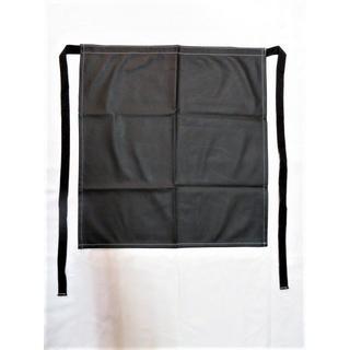防水腰下前掛け 黒 幅56×丈60 1枚