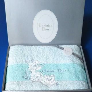 クリスチャンディオール(Christian Dior)のChristian Dior クリスチャン・ディオール バスタオル(タオル/バス用品)