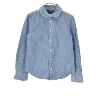 ラルフローレン(Ralph Lauren)のRALPH LAUREN デニム ボタンダウンシャツ丸襟(シャツ/ブラウス(長袖/七分))