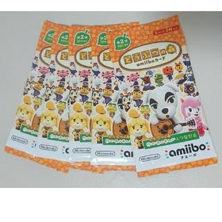 ニンテンドウ(任天堂)のamiibo どうぶつの森 第2弾 5パック(その他)
