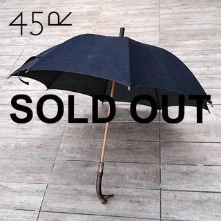 45rpm - 45rpm✨フォーティーファイブアールピーエ厶 インディゴ バンブー 藍染 長傘