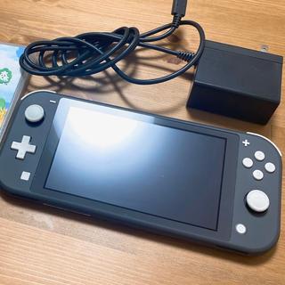 Nintendo Switch - NINTENDO Switchlite グレー