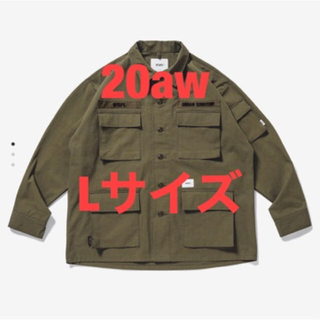 W)taps - 20aw Wtaps JUNGLE / LS / NYCO. RIPSTOP