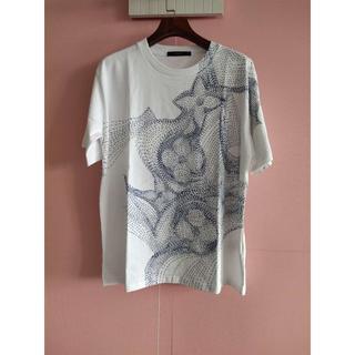 LOUIS VUITTON - Louis Vuitton(ルイヴィトン)フラワープリントTシャツ