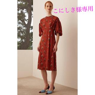 マメ(mame)の✨✨こにしき様専用✨✨ mame 刺繍 ワンピース(ひざ丈ワンピース)