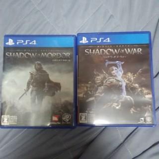 PlayStation4 - PS4 シャドウオブウォー シャドウオブモルドール 2本セット