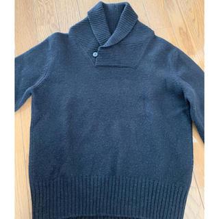 Maison Martin Margiela - マルタンマルジェラ★ボタン付きシンプルブラックニットセーターSサイズ