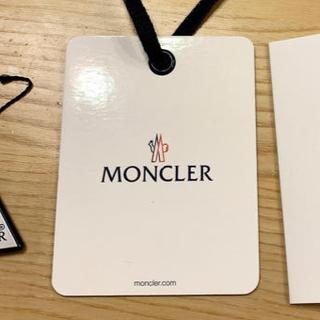 MONCLER - モンクレール タグ