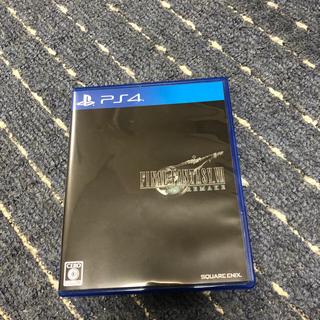 プレイステーション4(PlayStation4)のff7 リメイク(家庭用ゲームソフト)