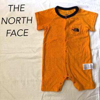 THE NORTH FACE - THE NORTH FACE ザノースフェイス ロンパース 80