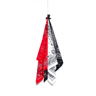 PEACEMINUSONE - PMO BANDANA SET #1 (RED, WHITE, BLACK)