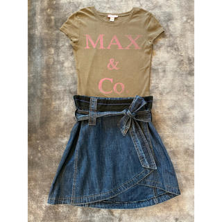 マックスアンドコー(Max & Co.)の上下2点セット!! MAX&Co.マックスアンドコー Tシャツ、スカートセット(セット/コーデ)